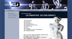 Preview of 3d-technologies.de